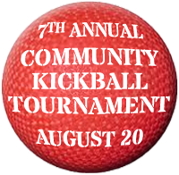 Annual Community Kickball Tournament August 20, 2017