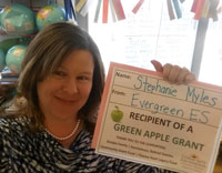 Evergreen Elementary, Stephanie Myles